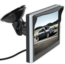 """5"""" Inch TFT LCD Display HD Digital Color Car Rear View Monitor Support VCD DVD"""