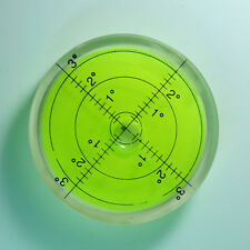 HIGHLY ACCURATE ROUND TURNTABLE SPIRIT BUBBLE LEVEL 60mm DIAMETER