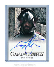 GAME OF THRONES SEASON 3 IAN WHYTE AUTOGRAPH
