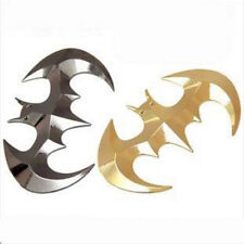 3D personality Batman Auto logo car sticker metal badge emblem tail decal 2Pcs