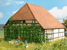 Busch 1264 Wilder Wein mit Rankgerüst für Mauern & Fassaden 1:87 H0 Bausatz Neu