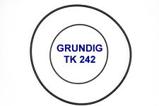 SET BELTS GRUNDIG TK242 REEL TO REEL EXTRA STRONG NEW FACTORY FRESH TK 242