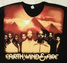 EARTH WIND & FIRE Legacy Continues 2009 US Concert T Shirt XL Combed Ring-spun!!