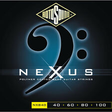 Rotosound Nexus NXB40 Black Coated Electric Bass Strings