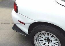 Rear Bumper Spat Splitter Add on For Mazda MX5 Miata NB Carbon Fiber