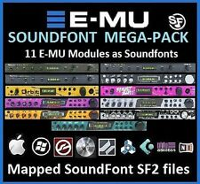 E-MU Soundfont Samples, EMU Proteus SF2 MoPhatt Virtuoso Earth Orbit Xtreme