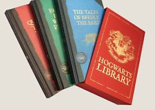 Hogwarts Library set of 3 books: Fantastic Beasts + 2 others (hardcover)