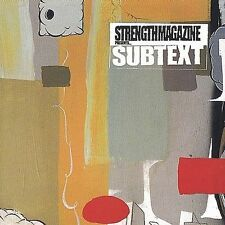 Strength Magazine Presents Subtext Various Artists MUSIC CD