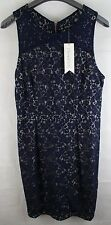 Sugar Hill Boutique - Lace Shift Dress - Navy - NWT UK Size 16 (Small Size)