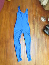 Vtg Retro Second Skin Cat Suit 1pc Leotard Wet Skin Body Suit-Unitard-XL-fetish