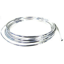 8m Chrome Moulding Trim Car Door Edge Guard Strip Molding Protector U shape