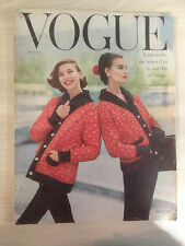 "VOGUE US August 01,1955 ""Fashions for the Smart Girl"" Collection Vintage Mode"
