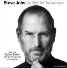 Steve Jobs Unabridged Walter Isaacson AUDIO BOOK CD biography interviews family