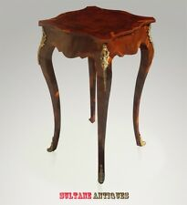 Fabulous Louis XV style SIDE TABLE Dark walnut