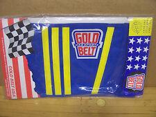 NOS Vintage MX Motocross Gold Belt Riding Kidney Belt Husqvarna Elsinore Maico