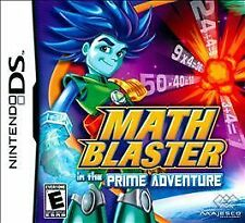 Math Blaster in the Prime Adventure (Nintendo DS, 2009)
