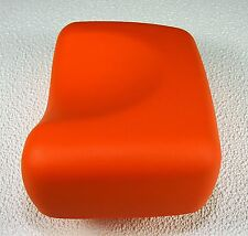 Deluxe ORANGE Contour Tanning Bed Pillow Closed Cell