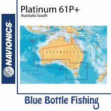Navionics - Platinum Plus Chart 61P+XL3 - Australia South with Fish Data Layer