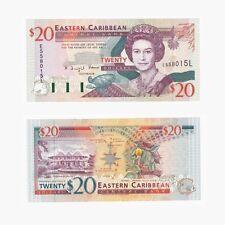 Des Caraïbes orientales - $20 dollars billet-p33l-unc.