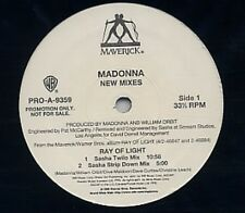 Madonna Ray Of Light - New Mixes 4 track Us Dj 12""