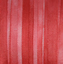 Hand Dyed Silk Ribbon 4mm - 3 meters Scarlet