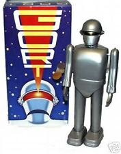 The Day The Earth Stood Still GORT Wind-Up Tin Robot