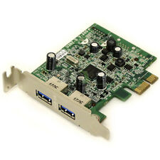 ECS U3N2-D 2 Port USB 3.0 PCIe x1 Expansion Card Dell FWGJ8