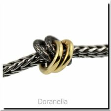 Trollbeads Silver & 18K Gold 41810 2+2, Silver & Gold :1 RETIRED 30% OFF