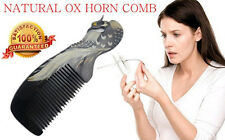New Gift Collection Natural OX Horn Natural Comb Healthy Hair Stop Loss Comb