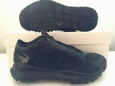 Nike Air Jordan Dominate Pro Golf Shoes Tour All Blackout 707516-010 Men's Sz 9