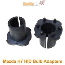 2pcs H7 HID Bulbs Adapters Holders Conversion Kit For Mazda 3 5 6 #AT6