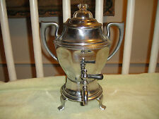 Vintage Manning Bowman Coffee Maker-Urn Shaped Coffeepot-Electric-Unique Look