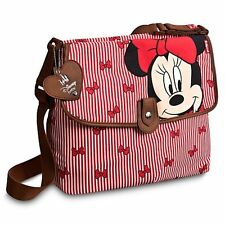 Disney Baby Babymel Minnie Mouse Diaper Bag RED Changing Pad Insulated Nappy NEW