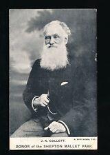 Somerset SHEPTON MALLETT JK Collett Posted 1906 PPC