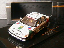 SUBARU LEGACY RS #3 TOUR DE CORSE 1991 CHATRIOT PERIN IXO RAC211 1/43 BP
