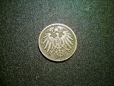 1895 GERMANY 1 PFENNING COIN. HIGH GRADE