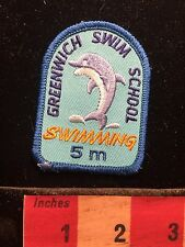 Dolphin Patch ~ Greenwich Swim School 5 m ~ Swimming 60Y1
