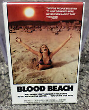 "Blood Beach Movie Poster 2"" x 3"" Refrigerator Locker MAGNET Horror"