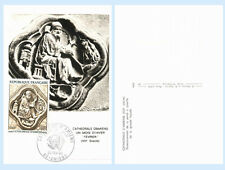 France Maximum Card #1236 Bas-relief Amiens Cathedral Art First Day Cover FDC
