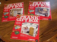 Prank Gift Box set of 3, Bathe & Brew,Pet Petter, Ear Wax Candle Kit, Gag gift