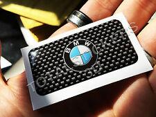 STICKERS  ADESIVO 3D RESINATO  PER AUTO MOTO BMW CARBON  B-184