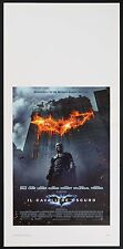 LOCANDINA, IL CAVALIERE OSCURO The Dark Knight BALE,LEDGER BATMAN POSTER AFFICHE
