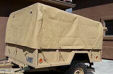 M101 M101A1 M101A2 M101A3 Trailer Top Cargo Cover Tan NOS 8382966-1