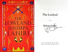 Jhumpa Lahiri~PERSONALLY SIGNED~The Lowland~1st Edition-UK + PHOTOS & FLIER!!!