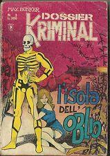 DOSSIER KRIMINAL n° 3 (Corno, 1977) Magnus