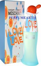 I LOVE LOVE by Moschino 3.3 / 3.4 oz edt Perfume Spray for Women * New In Box