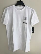 NWT MEN'S RVCA T-SHIRT SIZE MEDIUM WHITE POP UP HEAD POCKET TEE 100% COTTON