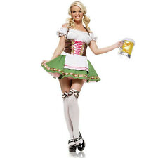 Sexy Gretchen German Beer Maid Wench Oktoberfest Halloween Costume New Large