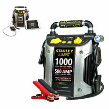 Car Booster 12v Battery Charger Power Compressor Portable Jump Starter USB Auto