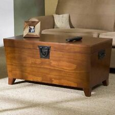 Hope Chest Storage Trunk Wood Bedroom Blanket Coffee Table Large Box Quilt Bench